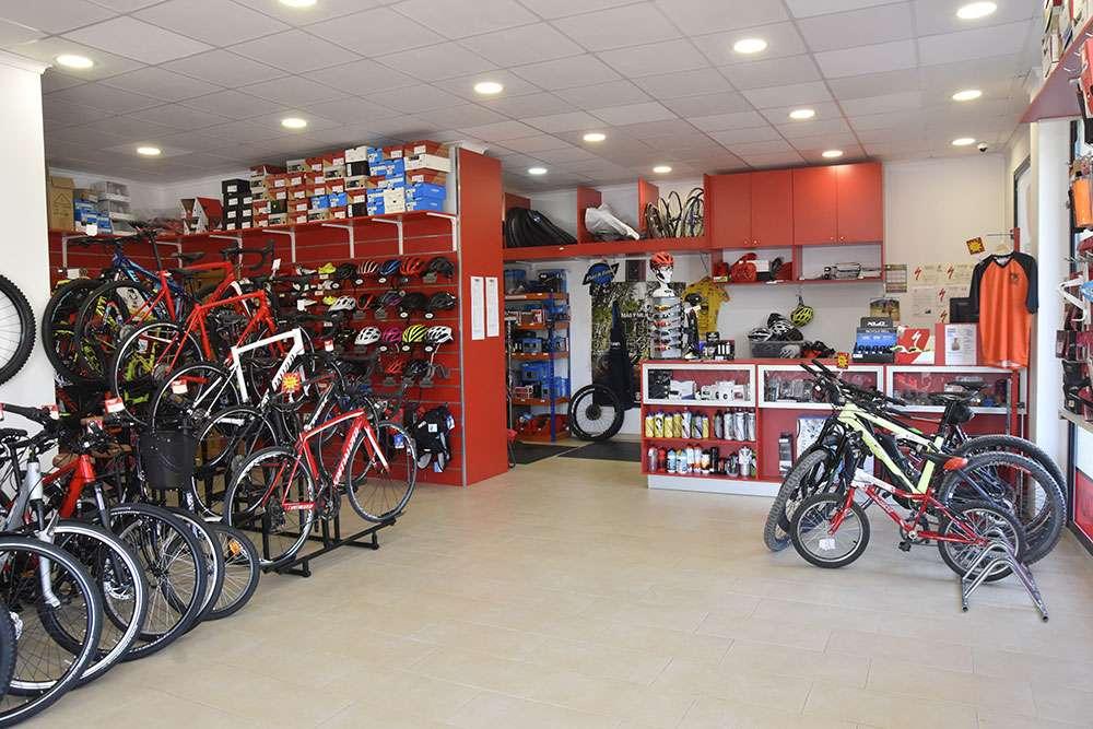Tienda de bicicletas en Xaló